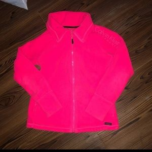 Calvin Klein athletic performance fleece jacket